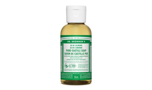 18-in-1 Hemp Pure-Castile Soap - Almond- Code#: PC3653