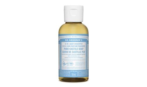 18-in-1 Hemp Pure-Castile Soap - Unscented- Code#: PC3654