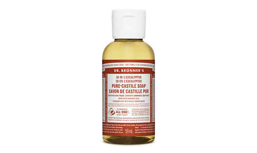 18-in-1 Hemp Pure-Castile Soap - Eucalyptus- Code#: PC3655