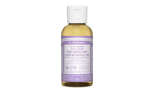 18-in-1 Hemp Pure-Castile Soap - Lavender- Code#: PC3656