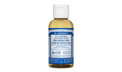 18-in-1 Hemp Pure-Castile Soap - Peppermint- Code#: PC3657