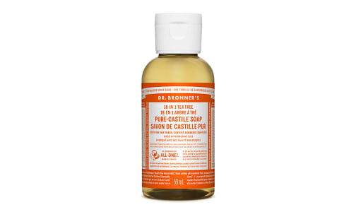 18-in-1 Hemp Pure-Castile Soap - Tea Tree- Code#: PC3658