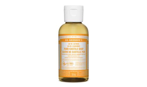 18-in-1 Hemp Pure-Castile Soap -  Citrus Orange- Code#: PC3660