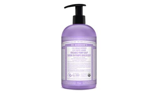4-in-1 Organic Sugar Soap - Lavender- Code#: PC3661