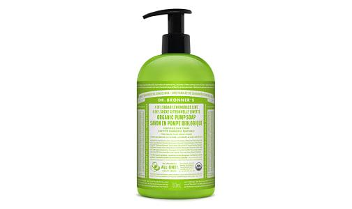 4-in-1 Organic Sugar Soap - Lemongrass Lime- Code#: PC3662