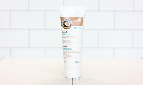 Coconut Sunscreen SPF 15- Code#: PC3833