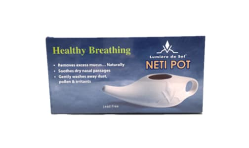 Ceramic Neti Pot- Code#: PC4030