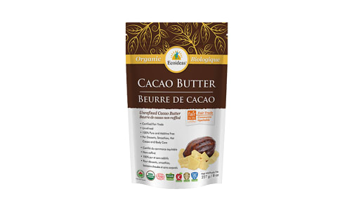 Organic Cacao Butter - Fair Trade- Code#: PC4036