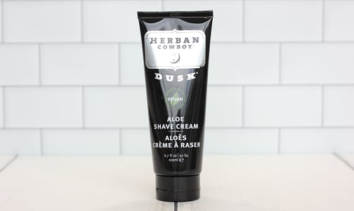 Organic Dusk Aloe Shave Cream- Code#: PC410003