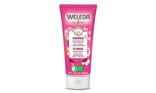 Organic Pamper Creamy Body Wash- Code#: PC410046