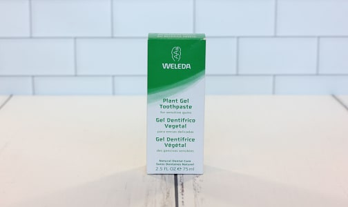 Plant Gel Toothpaste- Code#: PC410064