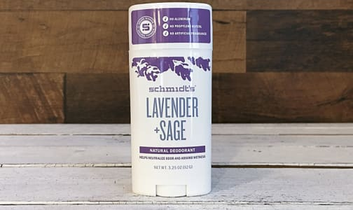 Lavender + Sage Deodorant Stick- Code#: PC410069