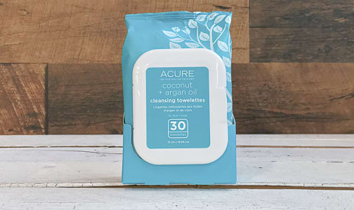 Coco + Argan Brightening Oil Towelettes- Code#: PC410094