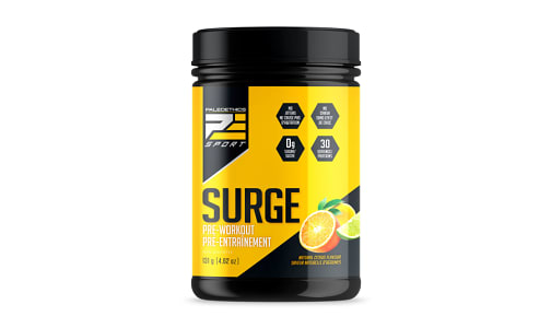 Surge Pre-Workout Citrus- Code#: PC410216