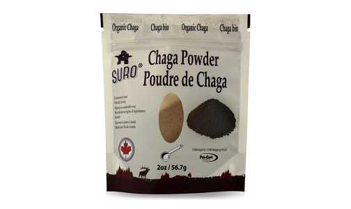 Organic Canadian Chaga Powder- Code#: PC4102505