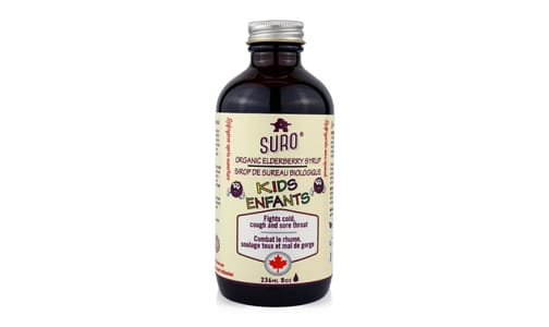 Organic Elderberry Syrup for Kids- Code#: PC4102508