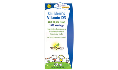 Children's Vitamin D3- Code#: PC410257