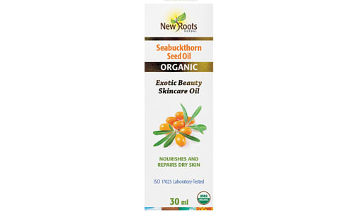 Organic Seabuckthorn Seed Oil- Code#: PC410266