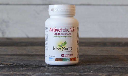 Active Folic Acid- Code#: PC410317