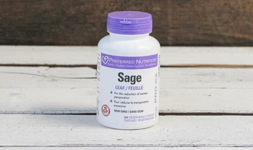Preferred Nutrition Sage 60Vc- Code#: PC410348