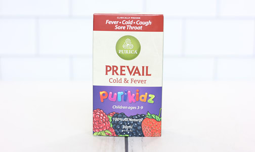 Purikidz Prevail Cold and Fever- Code#: PC410415