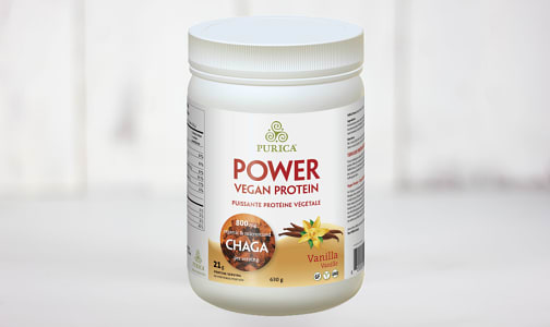 Vanilla Vegan Protein with Chaga- Code#: PC410424