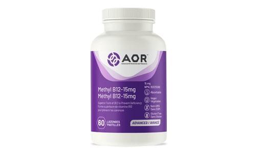 Methyl B12 - 15 mg- Code#: PC410440