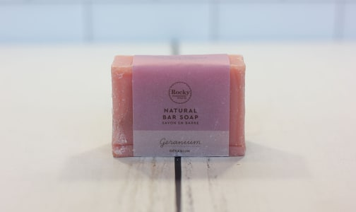 Geranium Bar Soap- Code#: PC410498