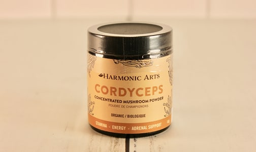 Organic Cordyceps Concentrated Mushroom Powder- Code#: PC410571
