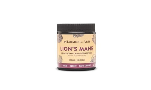 Organic Lions Mane Concentrated Mushroom Powder- Code#: PC410573