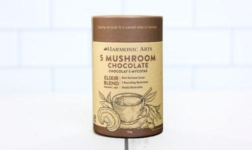 Organic 5 Mushroom Hot Chocolate Elixir Blend- Code#: PC410622