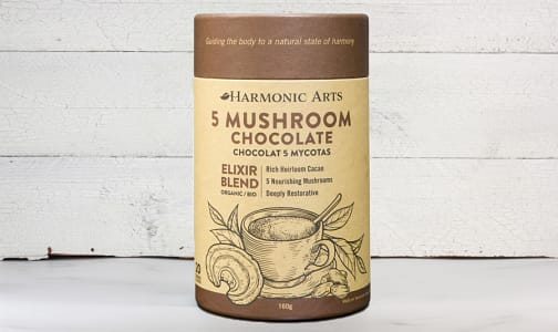 Organic 5 Mushroom Hot Chocolate Elixir Blend- Code#: PC410622