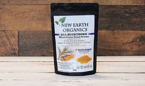 Organic Certified Organic Sea Buckthorn Fruit Powder- Code#: PC410693