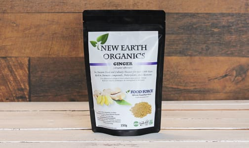 Organic Certified Organic Ginger Powder- Code#: PC410694