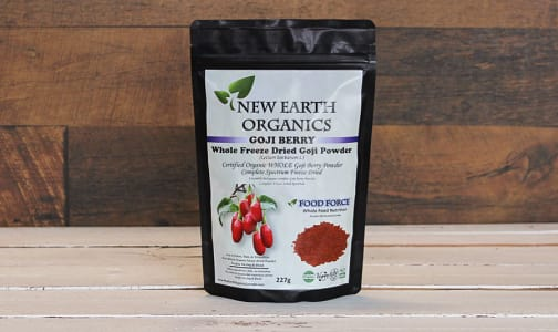 Organic Certified Organic Whole Goji Berry Powder- Code#: PC410706