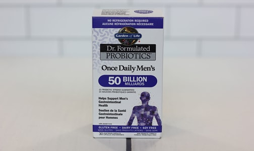 Dr.Formulated Probiotics - Once Daily Men (Shelf Stable)- Code#: PC410764
