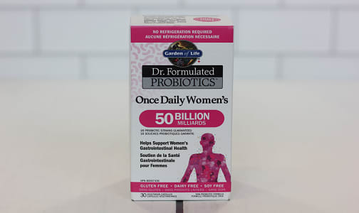 Dr.Formulated Probiotics - Once Daily Womens- Code#: PC410766