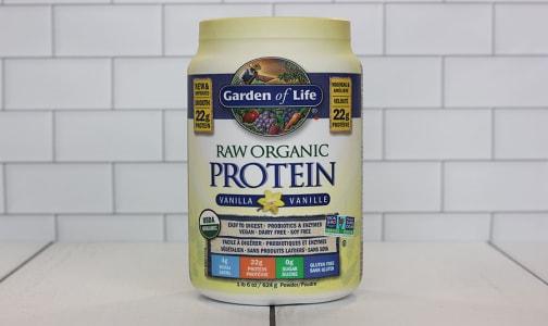 Organic RAW Protein - Vanilla- Code#: PC410774