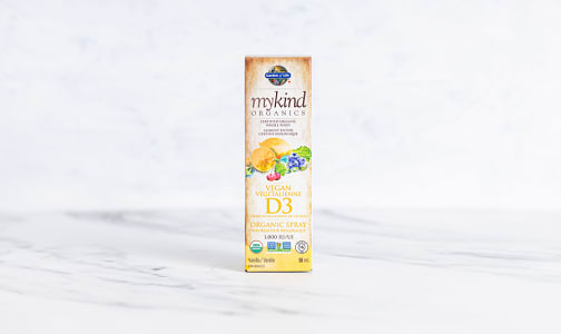 Organic Vitamin D3 Vanilla Spray- Code#: PC410780