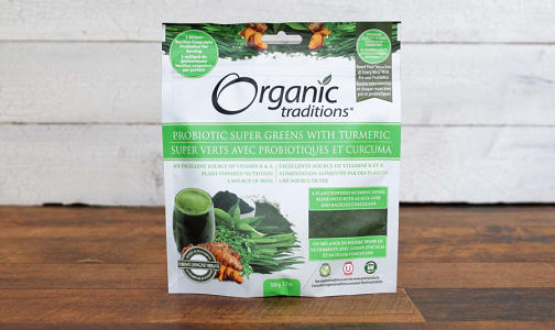 Organic Probiotic Super Greens + Turmeric- Code#: PC410840