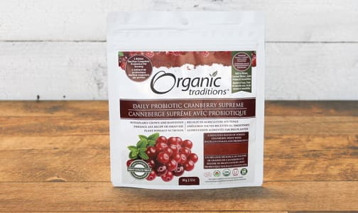 Organic Probiotics Cranberry Supreme- Code#: PC410844