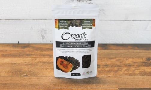 Organic Austrian Pumpkin Seeds- Code#: PC410846