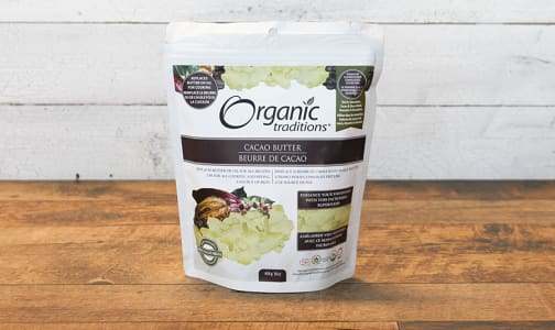 Organic Organic Cacao Butter- Code#: PC410849