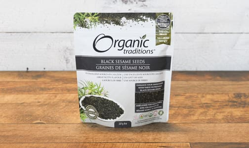 Organic Organic Black Sesame Seeds- Code#: PC410856