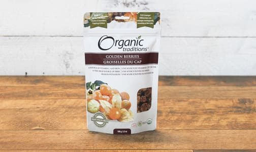 Organic Organic Golden Berries- Code#: PC410859