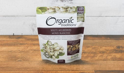 Organic Organic White Mulberries- Code#: PC410864