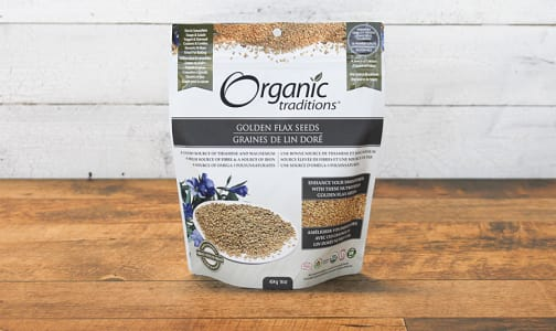 Organic Golden Flax Seeds- Code#: PC410878