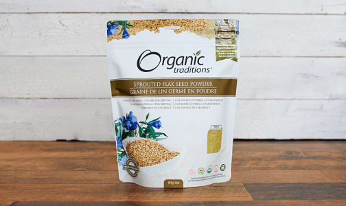 Organic Sprouted Flax Powder- Code#: PC410879