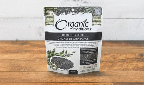 Organic Organic Dark Chia Seeds- Code#: PC410881