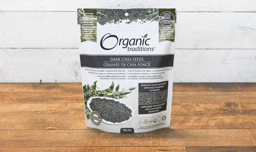 Organic Organic Dark Chia Seeds- Code#: PC410882